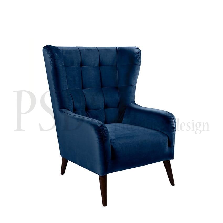 Lenestol CASEY Blue PSDS møbler og interiør